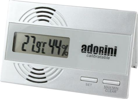 Thermometer Digital Corona adorini hygrometer thermometer digital 83 bewertungen