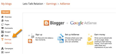 blogger earnings how to create a free blog on blogspot