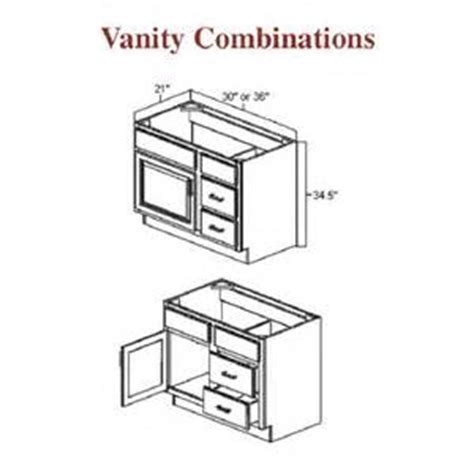 bathroom cabinets sizes dimensions tsc
