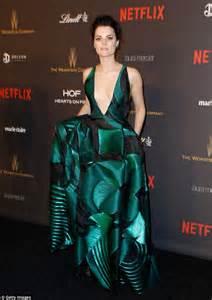 Jaimie Wardrobe by Golden Globes 2016 Sees Blindspot S Jaimie