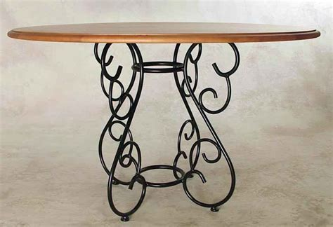 wrought iron wood dining table wrought iron dining tables by grace