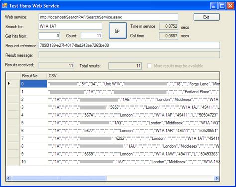 Address Lookup Web Service Findinsite Ms Postcode Address File Paf Csv Search