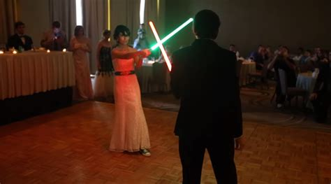 Wedding Lightsaber by Lightsaber Library