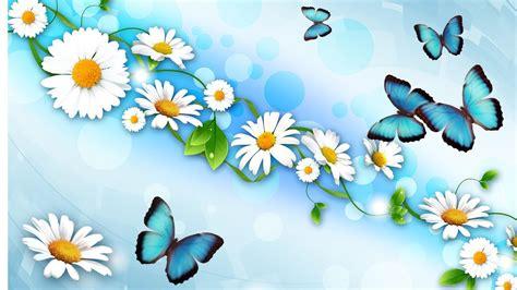 Disney Princess Wall Stickers Large margaritas mariposas escritorio wallpaper hd pantalla