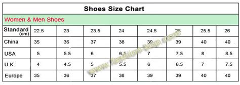 shoe size chart in china chinese shoe size chart china shoe size chart shoes