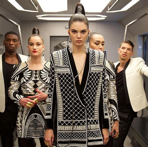 Roberto Cavalli For Hm Sneak Peak by Kendall Jenner For H M And Balmain