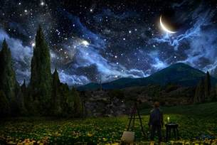 Meditation Bench Canada Starry Night By Alexruizart On Deviantart