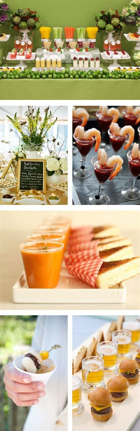 wedding reception with food stations food stations creative food and wedding reception ideas