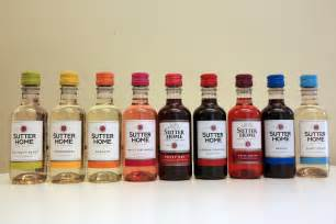 sutter home mini wine bottles sutter home rainbow sler pack 6 must products to