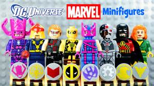 dc marvel superheroes lego knockoff minifigures 10 galactus hawkeye deadpool