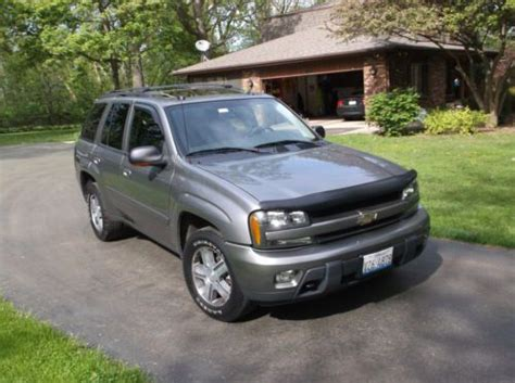 manual repair autos 2005 chevrolet trailblazer parking system buy used 2005 chevy trailblazer lt in round lake illinois united states