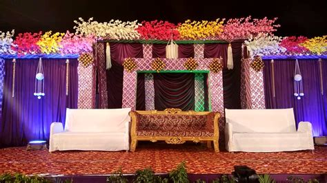 Balaji dham tent house wedding theem decoration youtube