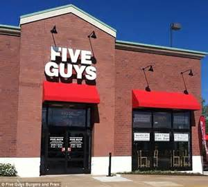 Five Guys Gift Card Online - five guys manager accidentally includes customer on email calling him a douche