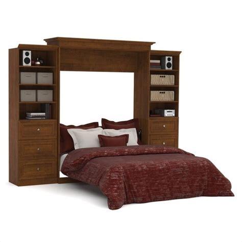 wall bed queen bestar versatile 115 queen wall bed with 2 piece 6