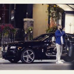 drakes new car picks up a new rolls royce cars