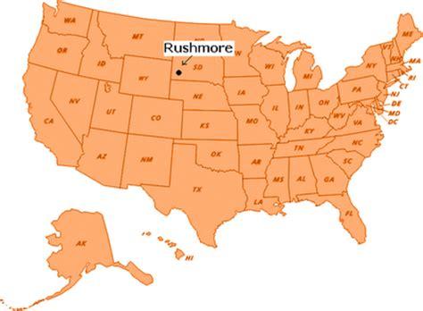 mt rushmore map mt rushmore 187 where is mt rushmore memorial located