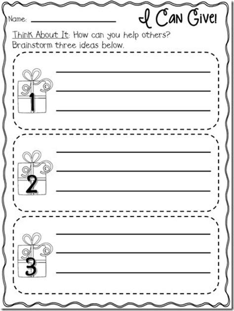random acts of kindness template 9 best images of random acts of kindness worksheets
