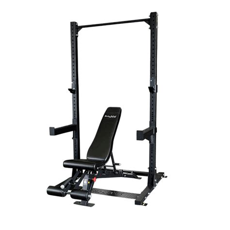 half rack weight bench body solid spr500 commercial half rack exercise warehouse