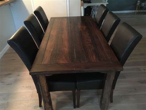 eiken eethoek stoelen eiken eethoek met 6 stoelen finest nette eethoek met