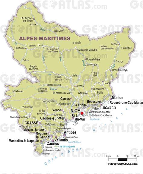 Villa Plans by Carte Des Alpes Maritimes Cartes Et Plans Du D 233 Partement