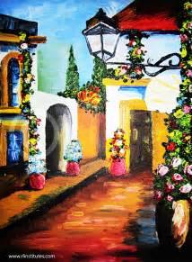bsc animation madurai oil color painting inimai