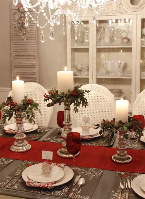 mesas de navidad   decoradas