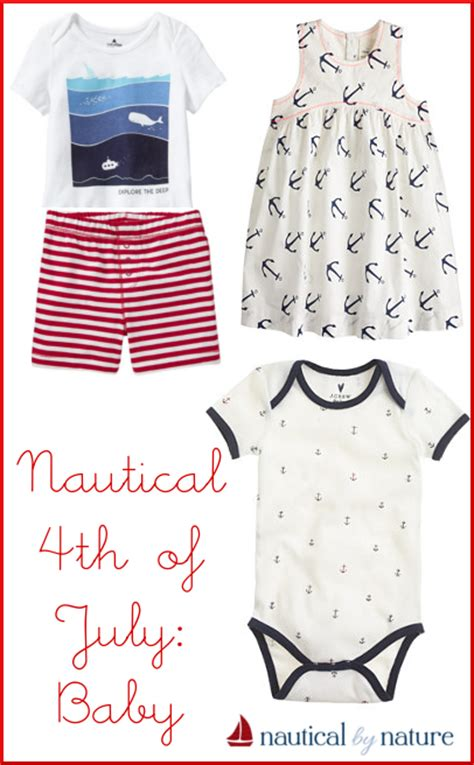 Baby Adventure 6bln 4th nautical by nature nautical 4th of july for the