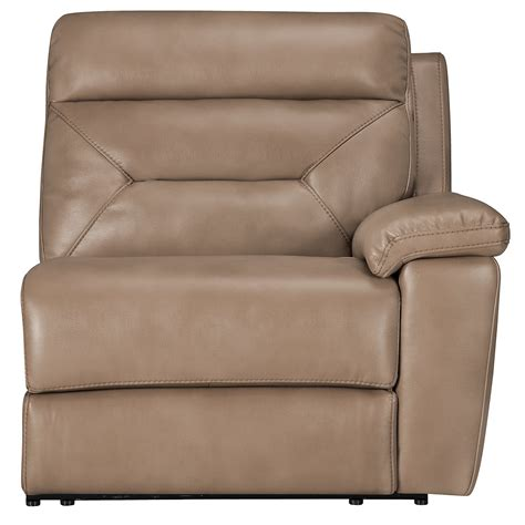 Large Microfiber Sectional City Furniture Dk Beige Microfiber Large Two Arm