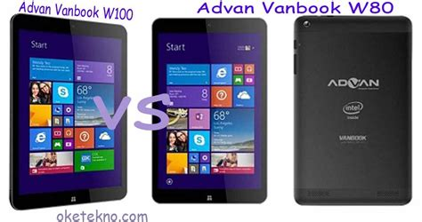 Tablet Advan Microsoft Harga Advan Vanbook W100 Vs Advan Vanbook W80 Os Microsoft Windows 8 1 Oketekno