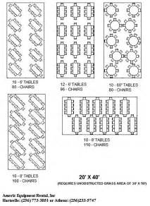 table seating capacity click a tent size below to view and print suggested