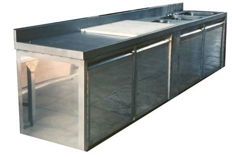 meuble cuisine en inox r 233 paration meuble cuisine inox alimentaire arti steel