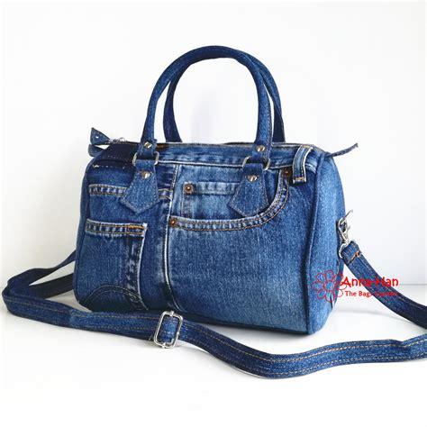 Handmade Bag jb05 ellipse jean handmade bag the bags garden