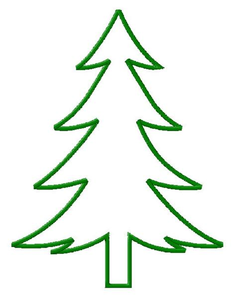 simple christmas tree silhouette www imgkid com the