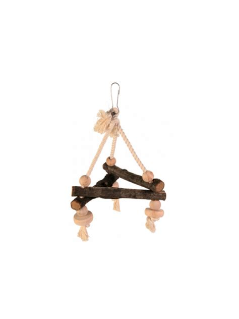 triangle swing trixie bird natural living triangle swing 16cm