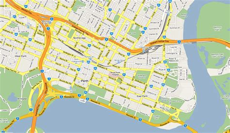 printable map perth city ocf convention 2015 how to get there