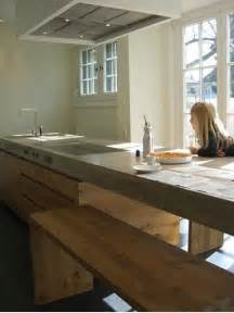 Cement Kitchen Countertops 39 Minimalist Concrete Kitchen Countertop Ideas Digsdigs