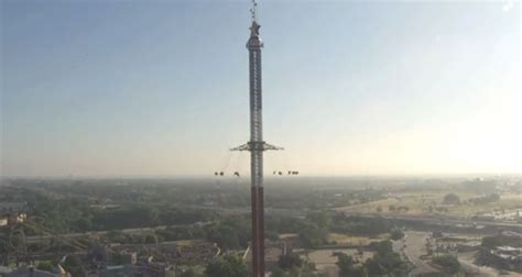 tallest swing ride in the world texas skyscreamer world s tallest swing ride