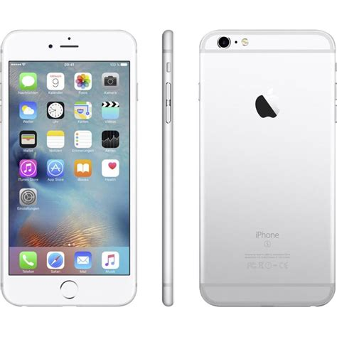 apple iphone 6s plus 16 gb silver from conrad