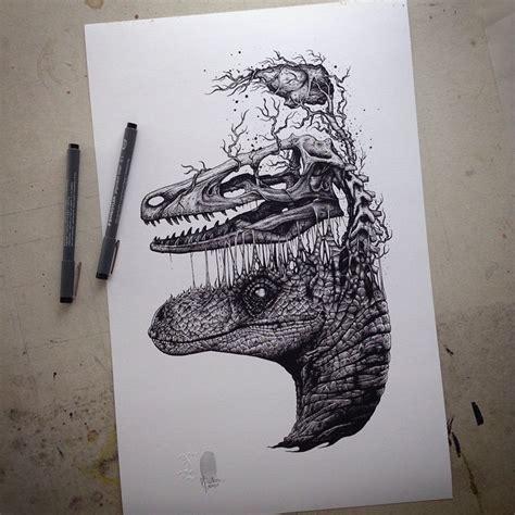 exploding skeleton amp skull illustrations by paul jackson