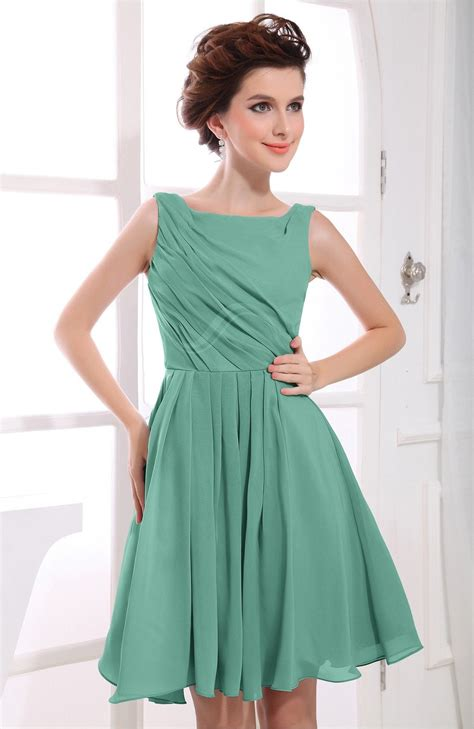 mint color dress mint green dress casual a line sabrina zipper