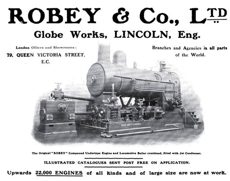 steam boilers engines and turbines classic reprint books robey co ltd 1902 ad robey co ltd compound