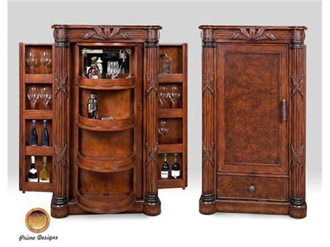 Bar Cabinet Furniture by Primo Design Living Room Bar Cabinet 7272 43