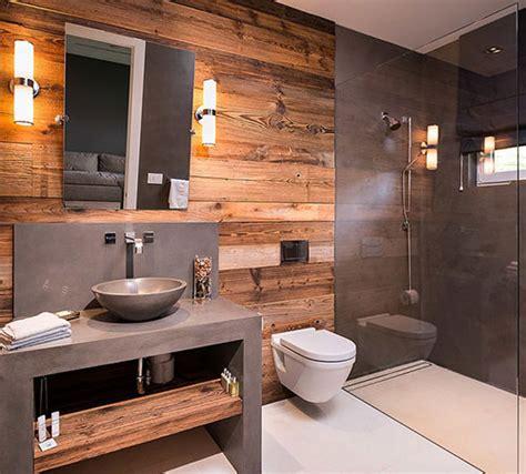 holz bad moderne natuurlijke badkamer badkamers voorbeelden