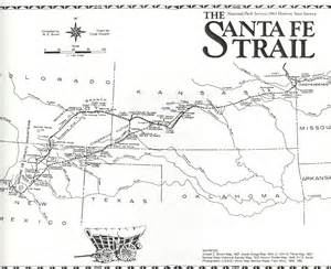 santa fe trail colorado springs map santa fe trail map santa fe nm mappery