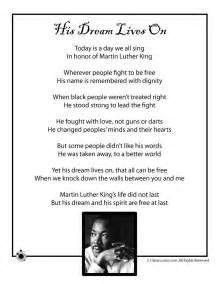 Kids poems for black history month kids poem martin luther king jr