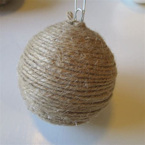 roommom27 rustic twine christmas ornaments