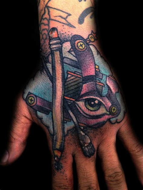 tattoo artists hand by james dean tattoonow hand