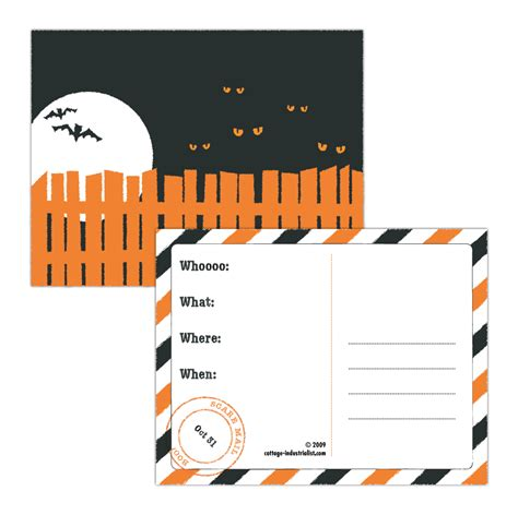 printable free halloween invitations 38 halloween printable activities decor tip junkie