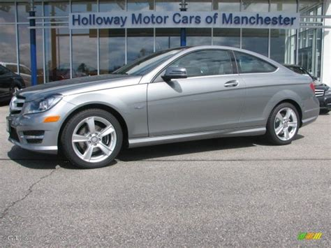 2012 palladium silver metallic mercedes c 250 coupe 64352950 gtcarlot car color