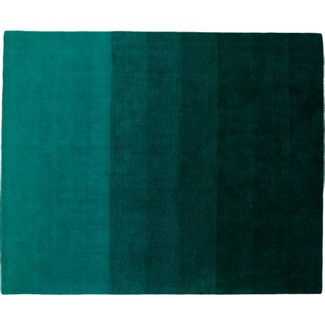 10 x 13 ombre rug ombre teal rug 8 x10 cb2